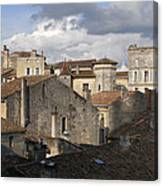 Roof Top View Canvas Print