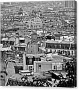Roof Tops Of Paris Canvas Print