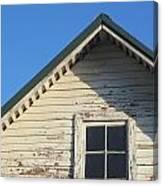 Roofline And Small Barn Facing North Canvas Print
