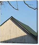 Roofline And Walnut Tree Canvas Print