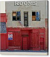 Rooms And A Beer Sign Canvas Print