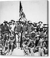 Roosevelt & Rough Riders Canvas Print