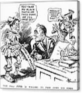 Roosevelt Cartoon, 1934 Canvas Print