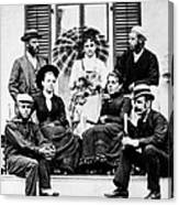 Roosevelt Family 1878 Canvas Print