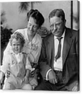 Roosevelt Family, 1915 Canvas Print