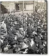 Roosevelt Speech, 1905 Canvas Print