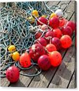 Ropes And Buoys Canvas Print