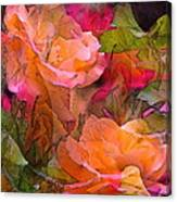 Rose 146 Canvas Print