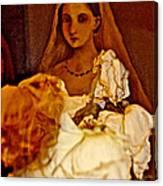 Rose Bride Canvas Print
