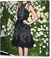 Rose Byrne Wearing A Chanel Dress Canvas Print