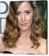 Rose Byrne Wearing A Neil Lane Brooch Canvas Print