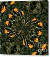 Rose Kaleidoscopic  Canvas Print