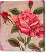 Rose Of Love And Romance Canvas Print
