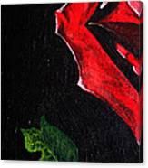 Rose Petal Canvas Print