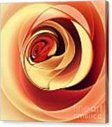 Rose Series - Pink Canvas Print