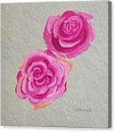 Rose Study Canvas Print