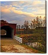 Roseman Bridge Canvas Print