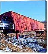 Roseman Covered Bridge Canvas Print