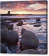 Roslee Castle, Easky, County Sligo Canvas Print
