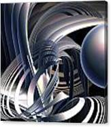Rotating Vortices Canvas Print