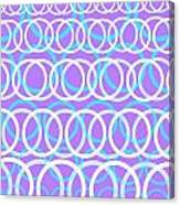 Round Cirlces Canvas Print