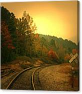 Round The Bend Canvas Print