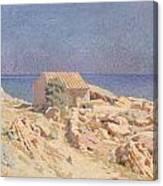 Roussillon Landscape Canvas Print