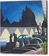 Route 66 Brandon Mural Canvas Print