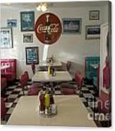 Route 66 Burgers Canvas Print