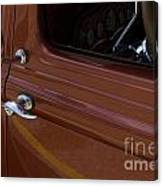 Route 66 Classic Cars 14 Canvas Print