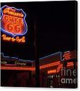 Route 66 Cruisers Canvas Print