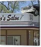 Route 66 Desotos Salon Canvas Print