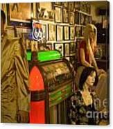 Route 66 Elvis  Canvas Print