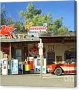 Route 66 Hackberry Arizona Canvas Print