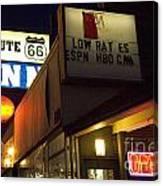 Route 66 Inn Canvas Print