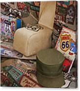 Route 66 Memorablilia Canvas Print