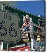 Route 66 Seligman Arizona Canvas Print