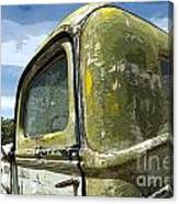 Route 66 Vintage Truck Canvas Print