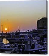 Rovinj Sunset Canvas Print