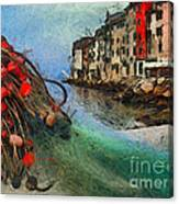 Rovinj The Ancient Adriatic City Canvas Print