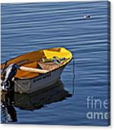 Rowing Boat Canvas Print