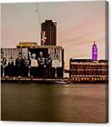 Royal Family And Oxo Tower Canvas Print