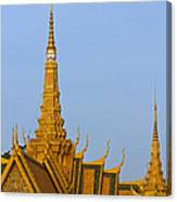 Royal Palace Roof. Canvas Print