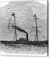 Royal Yacht, 1843 Canvas Print
