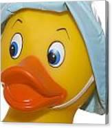 Rubber Ducky Closeup Canvas Print
