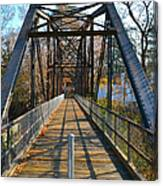 Rube Nelson Bridge 1 Canvas Print