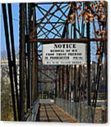 Rube Nelson Bridge 2 Canvas Print
