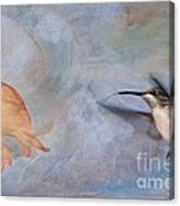 Ruby Throated Hummingbird 2 Canvas Print