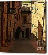 Rue De La Italia Canvas Print