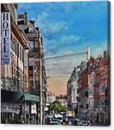 Rue De Metz In Toulouse Canvas Print
